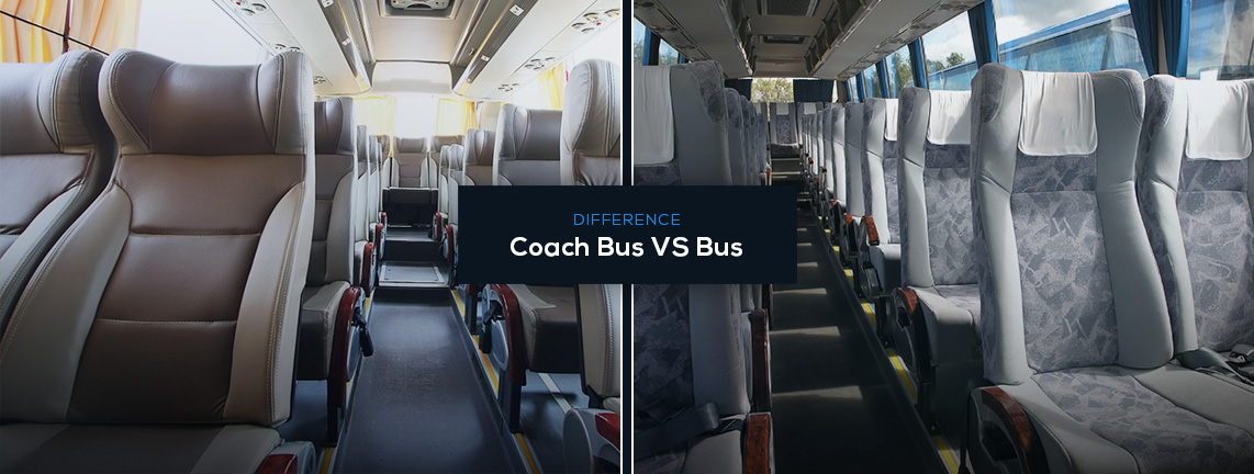Difference Between a Bus and a Coach Bus