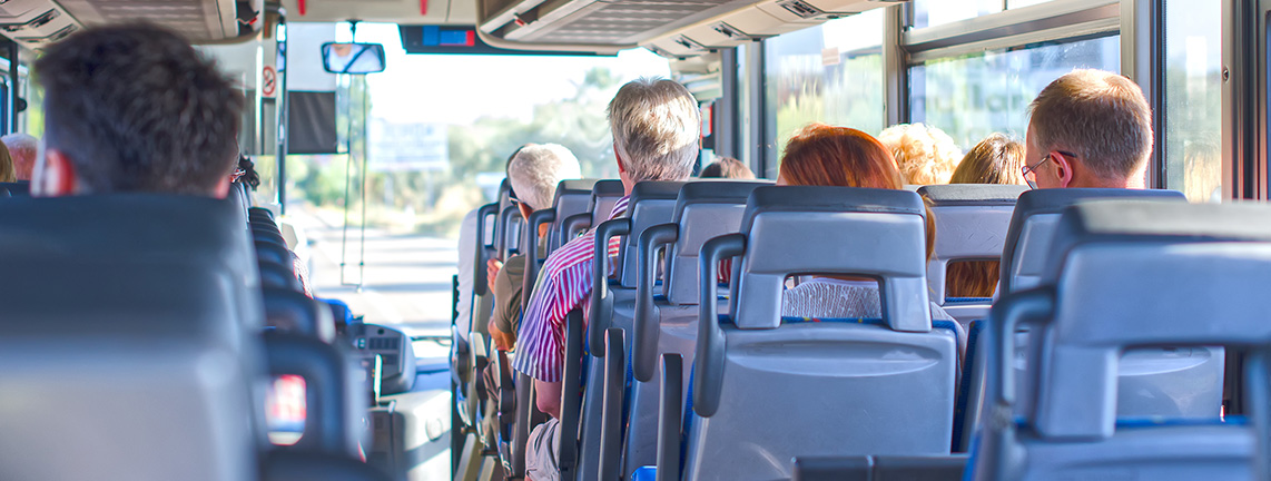 Know Where You are Traveling - Coach Bus